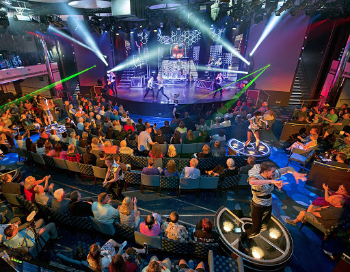 "The show ""America Rocks!"" performed on Carnival Vista."