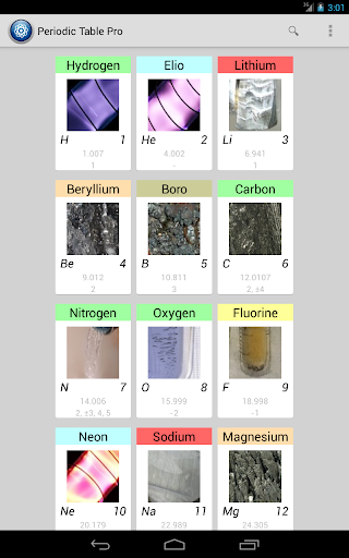 periodic table pro screenshot 7 - Periodic Table Pro Apk Free