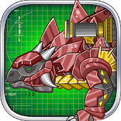 Steel Dino Toy :Ankylosaurus