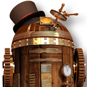 R2D3 Steampunk Live Wallpaper