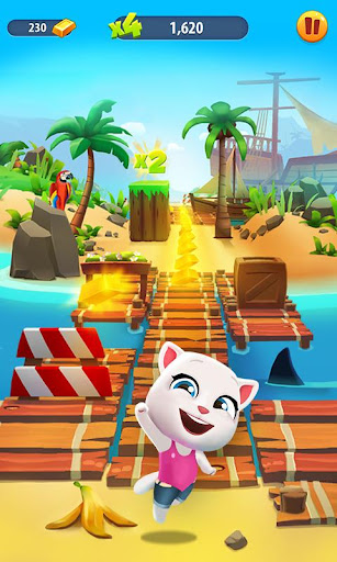 Talking Tom Gold Run 3D Game screenshot 2