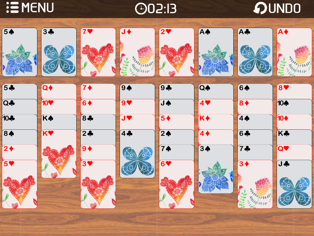 Freecell Solitaire Multi- screenshot