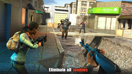Screenshot for Hopeless Raider-Zombie Shooting Games in United States Play Store
