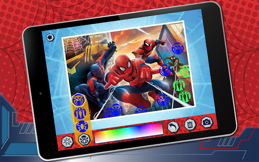 Puzzle App Spiderman 1.2 screenshots 11