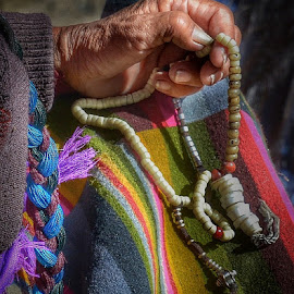 Praying hand by Francisco Little - Instagram & Mobile Android ( meditation, beads, buddhism, prayers, tibet, religion )