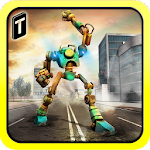 Robot Car Hero Sim 3D