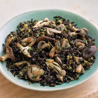 Wild Rice & Mushroom Pilaf.