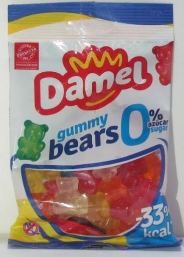 Gomitas Damel Sin Azucar Gummy Bears 100Gr Gomitas sin azúcar