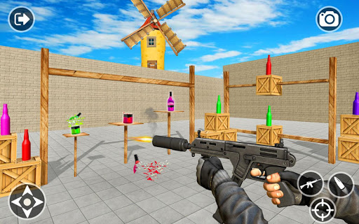 Impossible Bottle Shooting Game 2019 screenshot 13