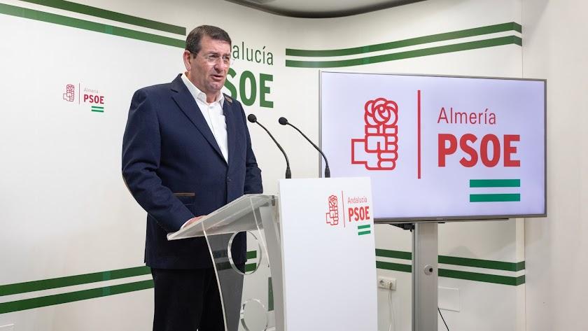 Martín Gerez, portavoz del PSOE de Vera.
