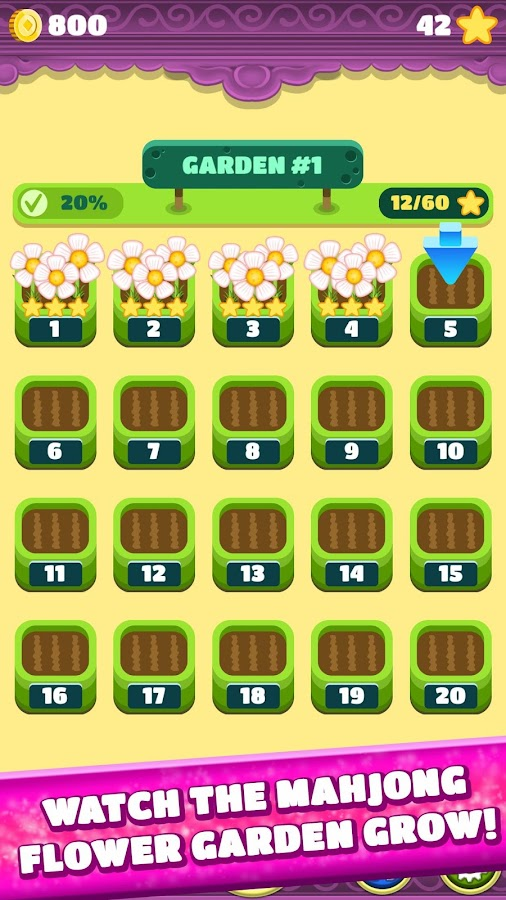 Mahjong Spring Flower Garden- screenshot