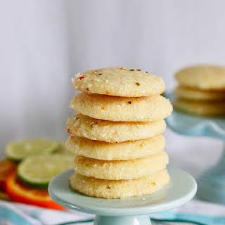 Soft Citrus Sugar Cookies.
