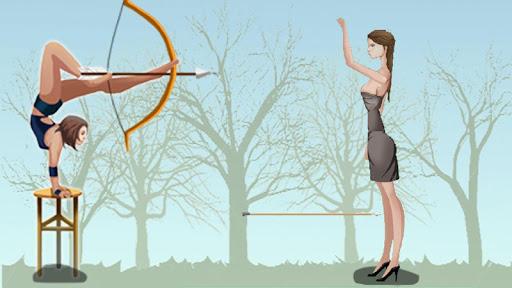 Girl Apple Shooter
