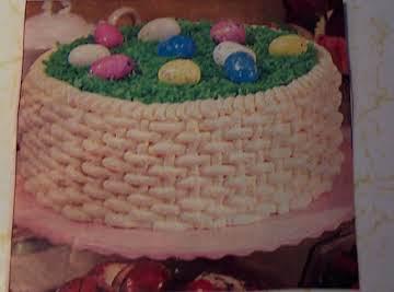 EASTER BASKET... 3-layer cake