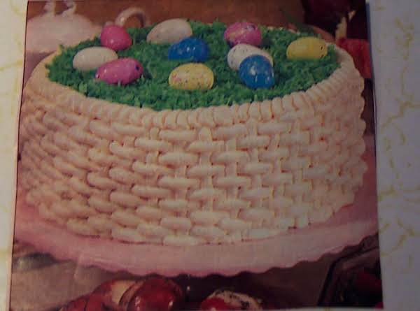 Easter basket 3layer cake recipe just a pinch recipes easter basket 3 layer cake recipe negle Gallery