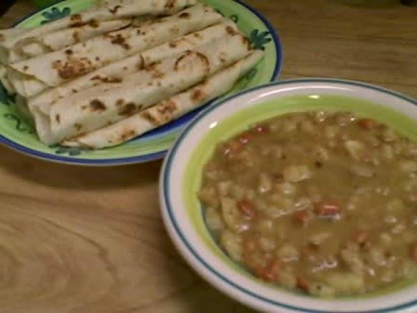 Green Enchilada Soup Recipe