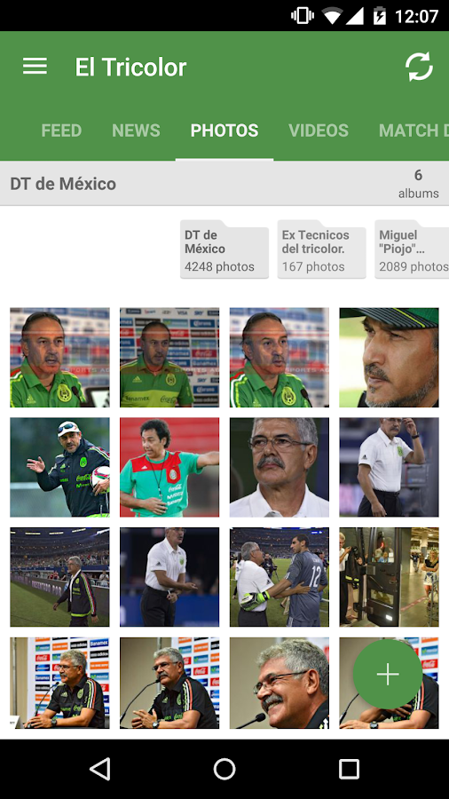La Tricolor México Fans- screenshot