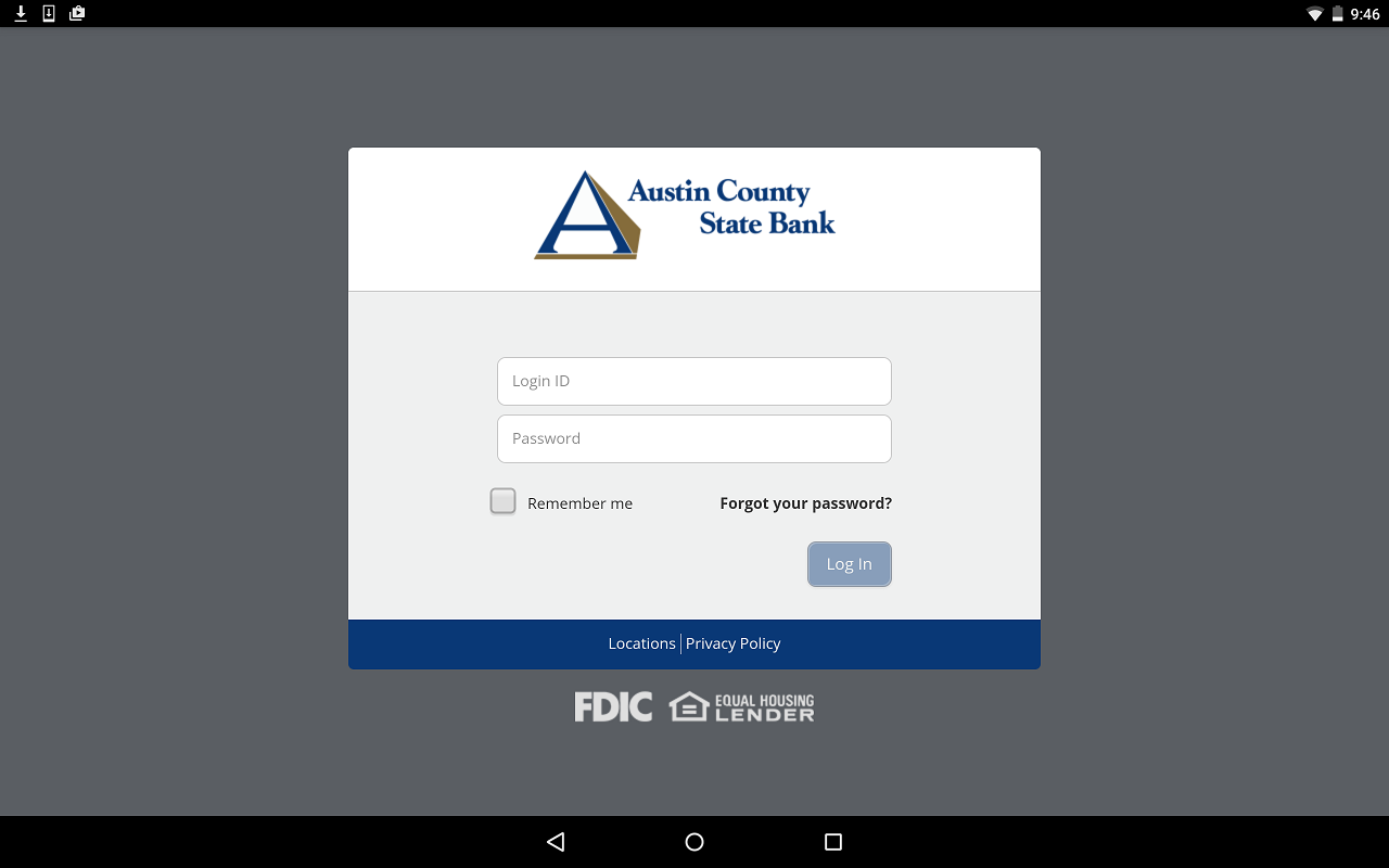 Austin County State Bank- screenshot