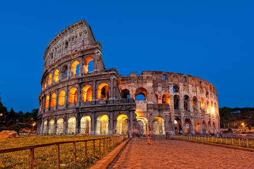 The Colosseum at Dusk by Bob Stafford - Buildings & Architecture Public & Historical ( europe 2012 may netherlands italy, rome )
