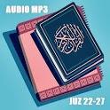 Murottal Al-Quran dan Terjemahan Offline Juz 22-27 icon
