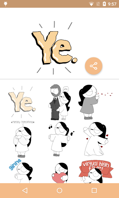 Catana Comics Stickers