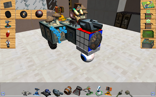 Blocky Pixel Car Craft Creator