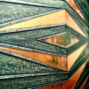 Corner by Eirin Hansen - Abstract Patterns