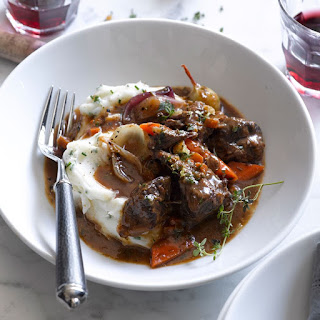 Easy Slow-Cooker Beef Bourguignonne