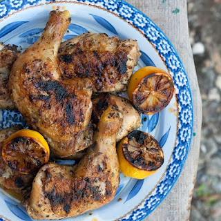 Lemon and Herbs Rubbed Grilled Chicken