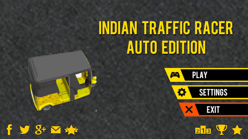 Indian Auto Traffic Racer