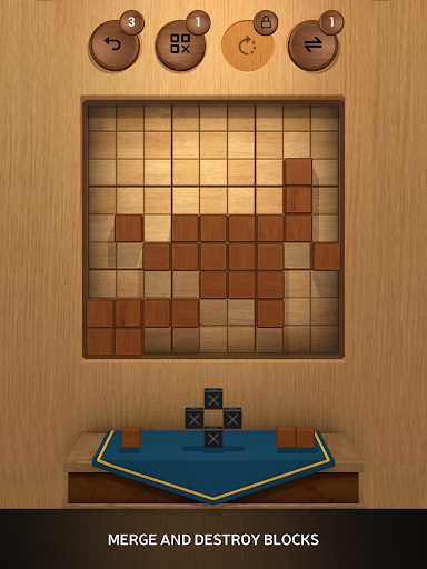 Wood SudoBlocks 3D - A Better Classic Wood Puzzle android2mod screenshots 9