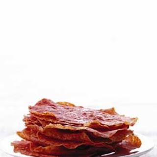 Salami Crisps.