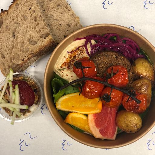 vegan scandi plate