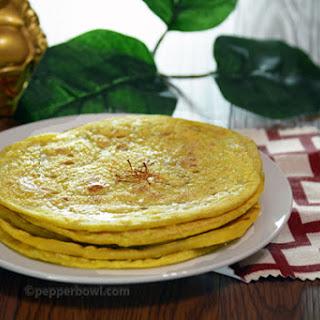 Paruppu Boli – A Sweet Flat Bread with Lentils.