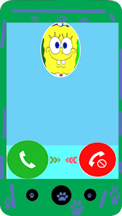 Fake call from Sponge BoB