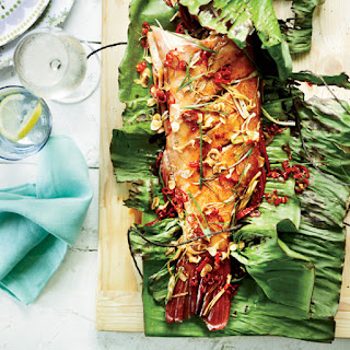 Whole Grilled Fish with Crispy Garlic and Red Chiles