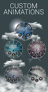 Real Weather Watch Face Reborn - náhled
