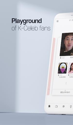 CHOEAEDOL Celeb – Korean Star Ranks screenshot