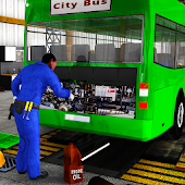 Real Bus Mechanic Workshop 3D
