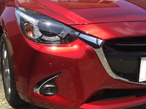 デミオ DJ5FS XD Noble Crimson 2WD 2018のカスタム事例画像 フモブレさんの2018年05月27日10:36の投稿