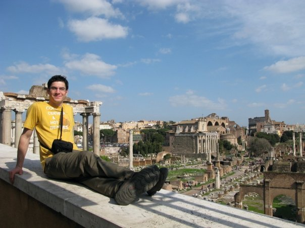 Photo: Rome is Awesome. This is thousands of years old. How sweet is that?