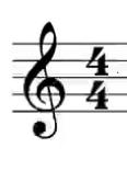 4/4 time symbol