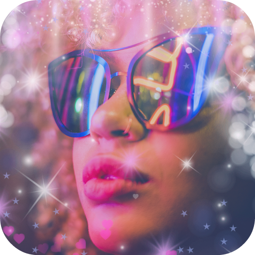 Magic Light Effects: Glitter for Photos Icon