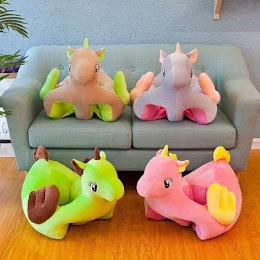 Fotoliu bebe Unicorn, dimensiune 75 x 40 x 50 cm