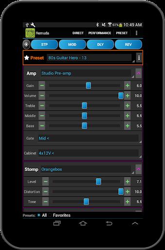 Remuda Lite - USB Guitar Amplifier Control App 1.8.4-lite screenshots 13