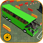 Bus Parking & Coach Driving 3D Icon