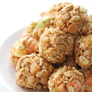 Confetti Peanut Butter Snack Bites
