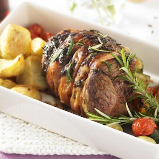 Mini Lamb Roast.