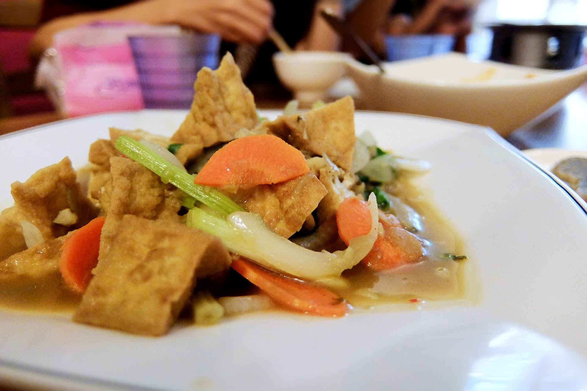 椰汁嫩豆腐,感覺比較普通些