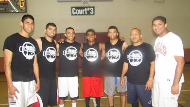 Photo: Runner up- Black Team